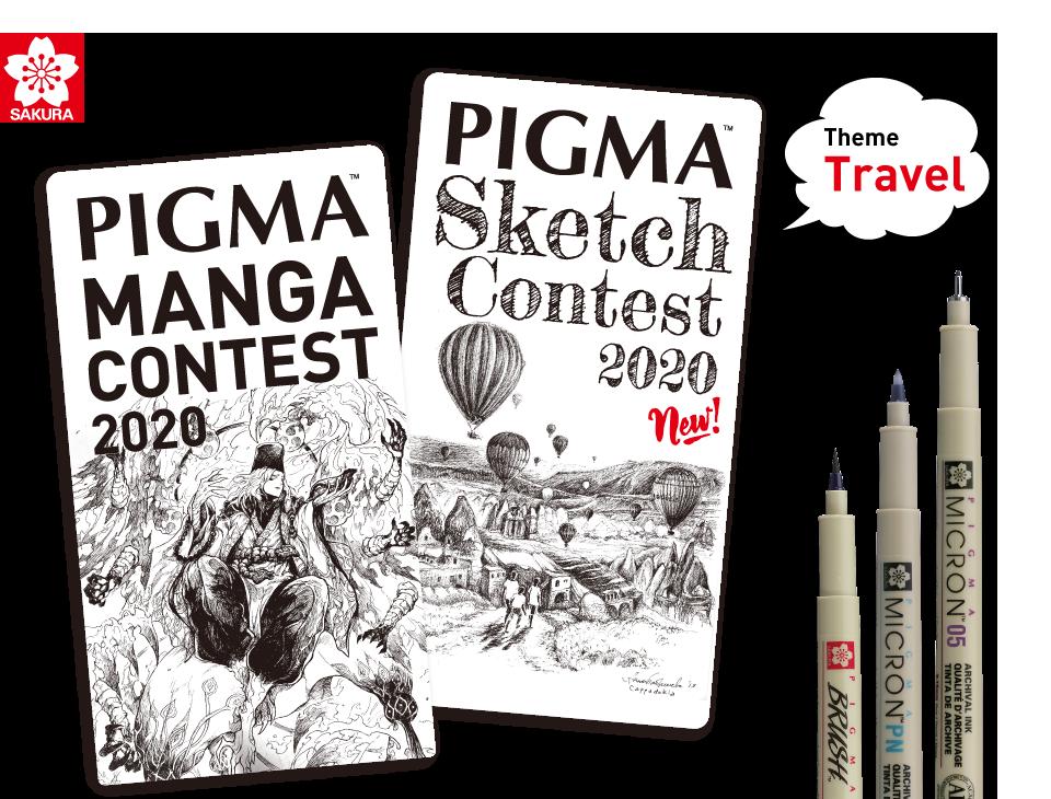 PIGMA MANGA/SKETCH CONTEST 2020