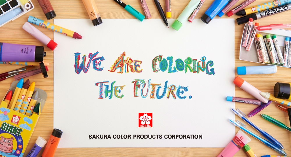WE ARE COLORRING THE FUTURE. SAKURA COLOR PRODUCTS CORPORATION
