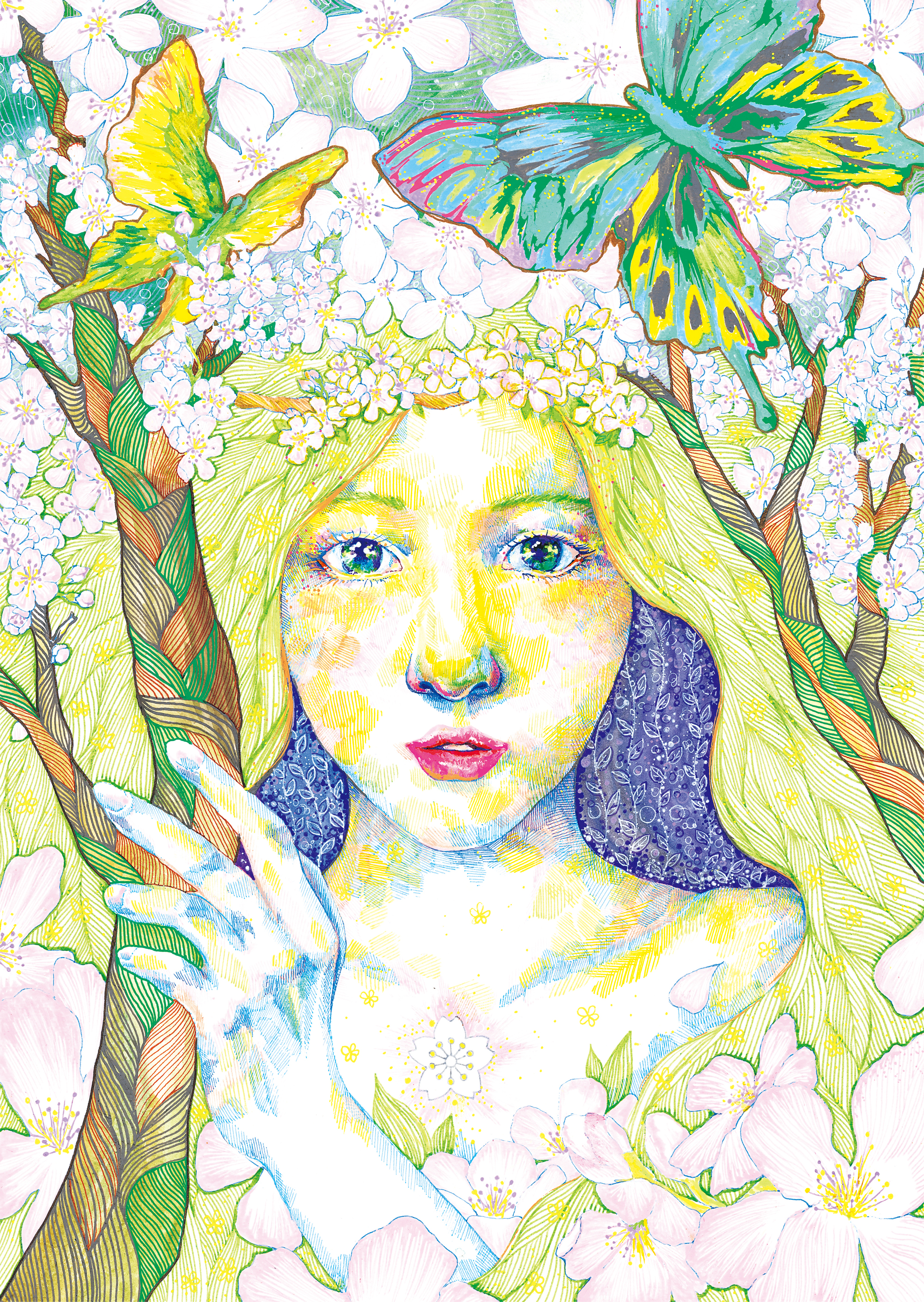 Goddess of Cherry Blossom