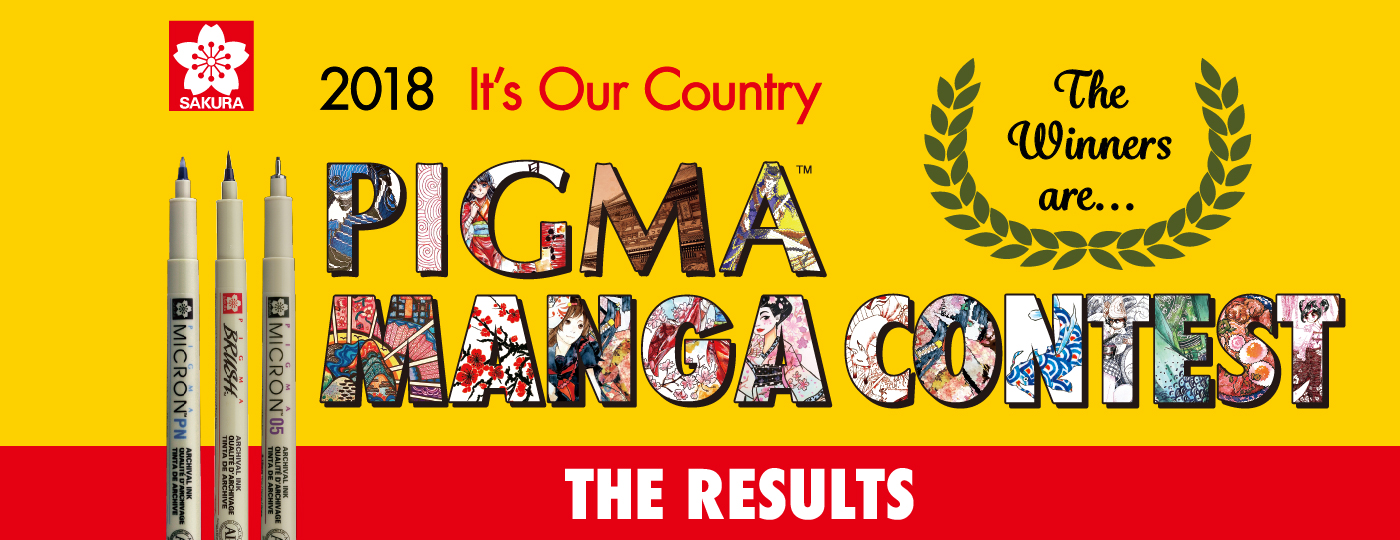 PIGMA MANGA CONTEST 2018 The Results