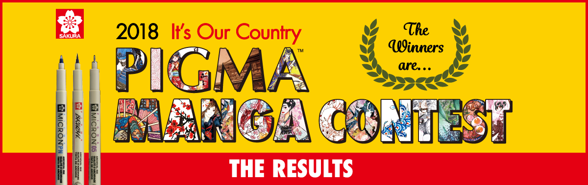 PIGMA MANGA CONTEST 2018 The Results