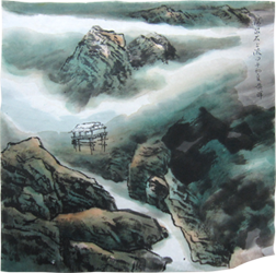 Traditional Chinese Painting Color example