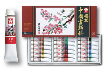 Traditional Chinese Painting Color