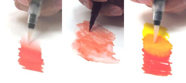 Koi Brush Pen example