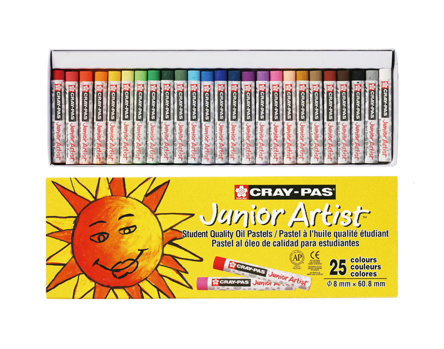 Cray-Pas Junior White Artist Oil Pastels White