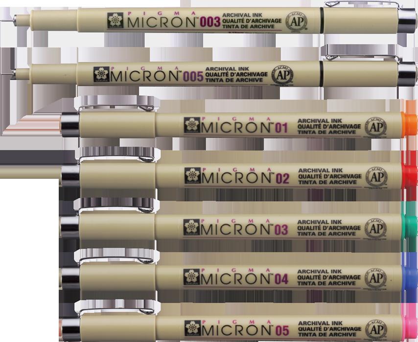01 Rose 01 0.25mm Rose 0.25Mm Sakura Pigma Micron Pens